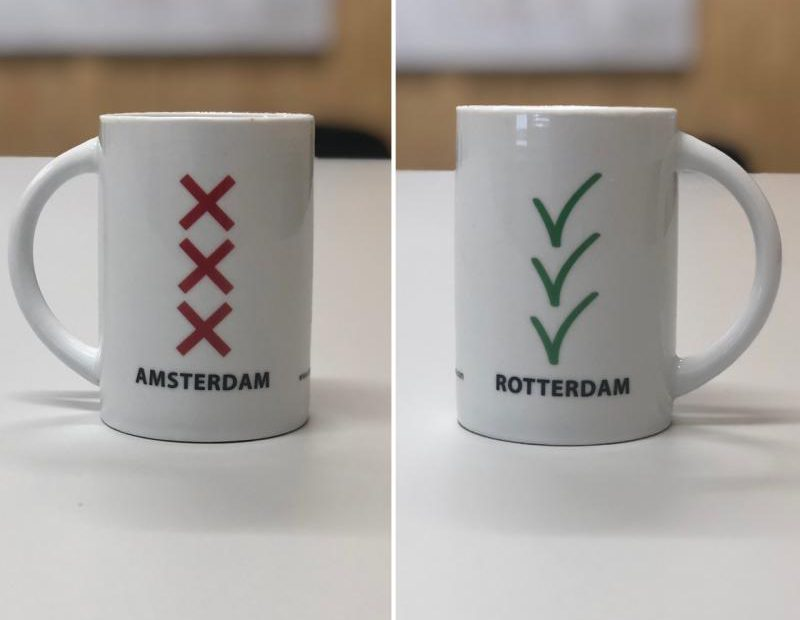 Mokken Amsterdam en Rotterdam